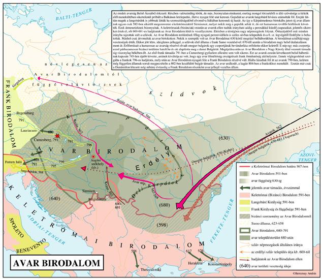 Bazi Eski Haritalar Avarok
