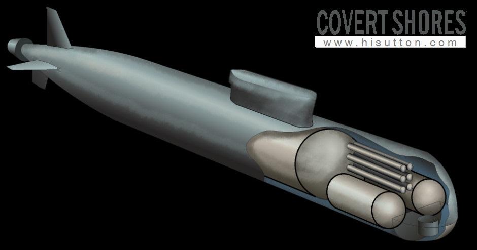 """Poseidon"" Nuclear-armed Underwater Drone 09851_3d"