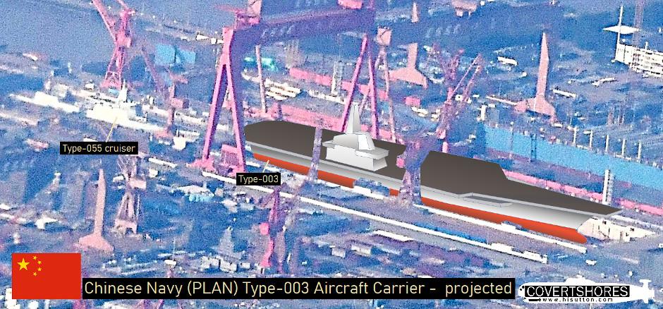 Portaaviones  Chinos  Noticias,comentarios,fotos,videos.  - Página 4 China-Type-003-Aircraft-Carrier-Update-projected-940
