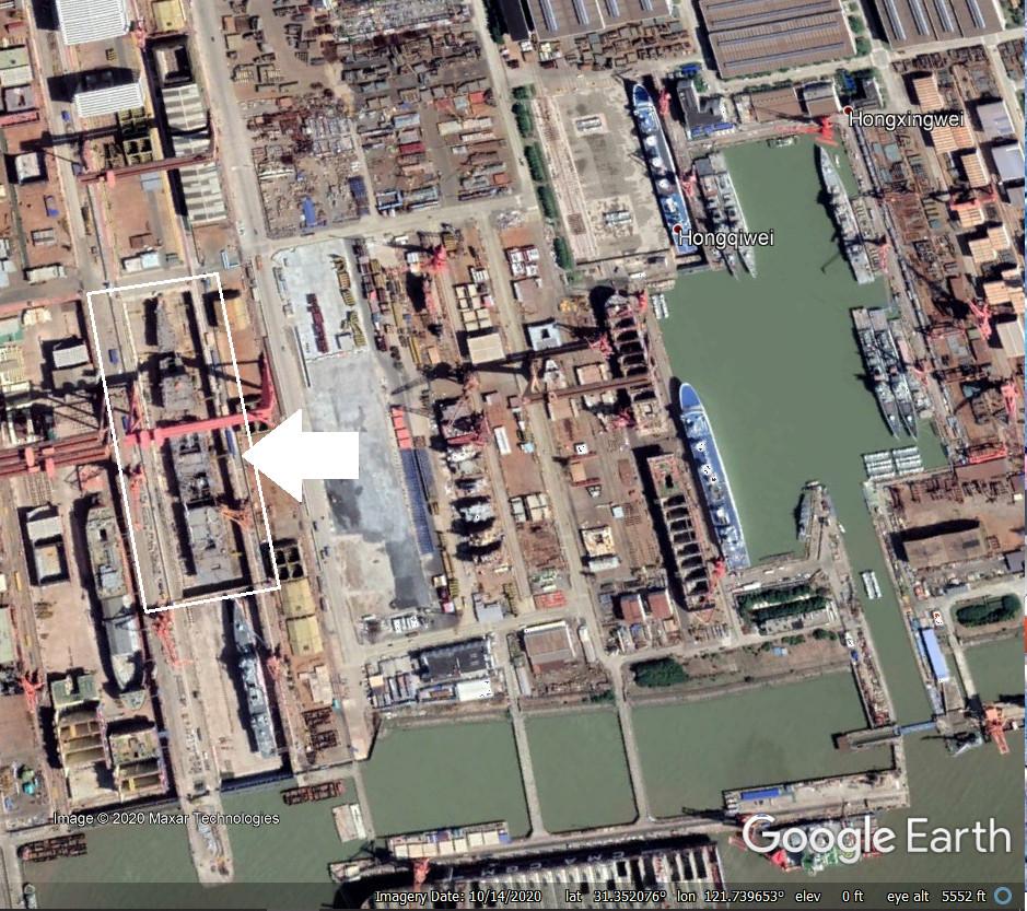 Portaaviones  Chinos  Noticias,comentarios,fotos,videos.  - Página 4 China-Type-003-Aircraft-Carrier-sat