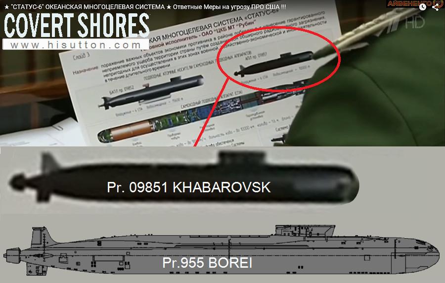 """Poseidon"" Nuclear-armed Underwater Drone Pr09851_borei"
