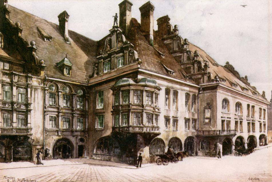 Pinturas realizadas por Adolf Hitler Building5