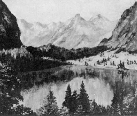 Pinturas realizadas por Adolf Hitler Landscape1