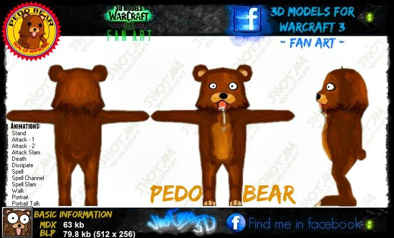 Wip - PedoBear (3d Model) 118786-4c025106db39607e429ed9196d8e8740