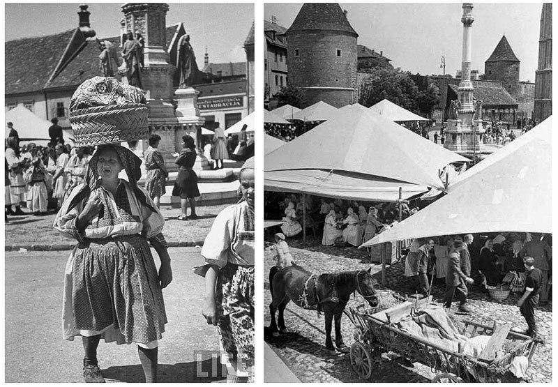 Povijest grada Zagreba - Page 2 14_Kaptol_1948