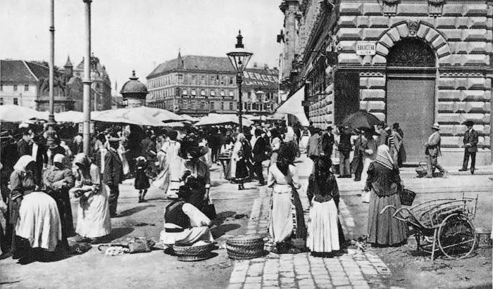 Povijest grada Zagreba - Page 3 21_Bakaceva_Jelacicev_trg_1905