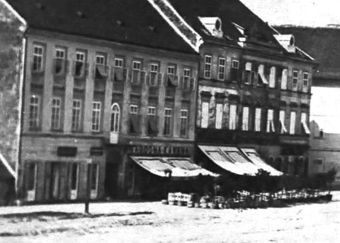 Povijest grada Zagreba - Page 2 8_1864-_Felbinger_Hatz_trg_bana_Jelacica