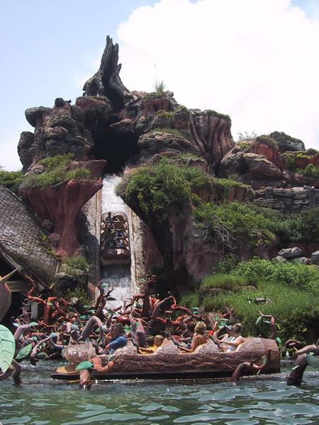 visite du Disney world magic Kingdom Splash_mountain
