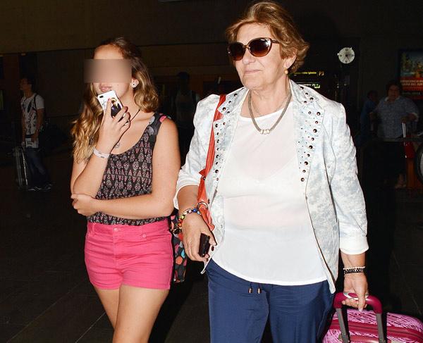 Andrea Janeiro comienza sus vacaciones de verano con Jesulín de Ubrique Andrea-janeiro1-z