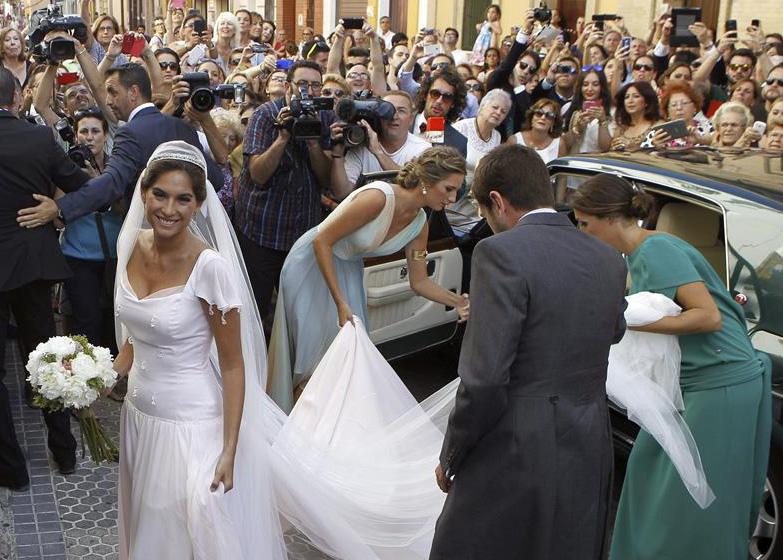 La boda religiosa de Francisco Rivera y Lourdes Montes Lourdesmontes-efe1-a