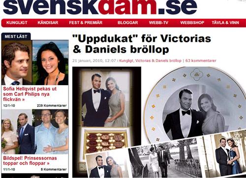 Duques de Västergötland (Príncipes Victoria y Daniel) 30594-z