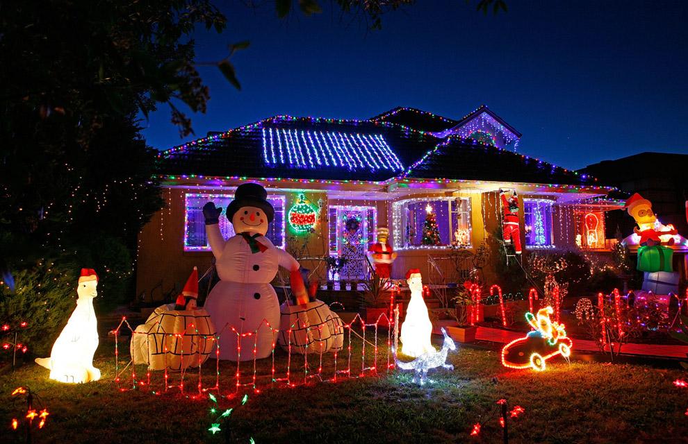 Las luces de Navidad que iluminan el mundo Navidad-australia--a