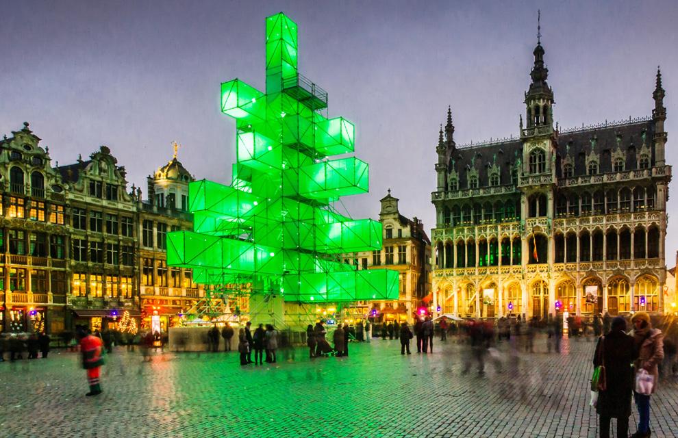 Las luces de Navidad que iluminan el mundo Navidad-bruselas--a