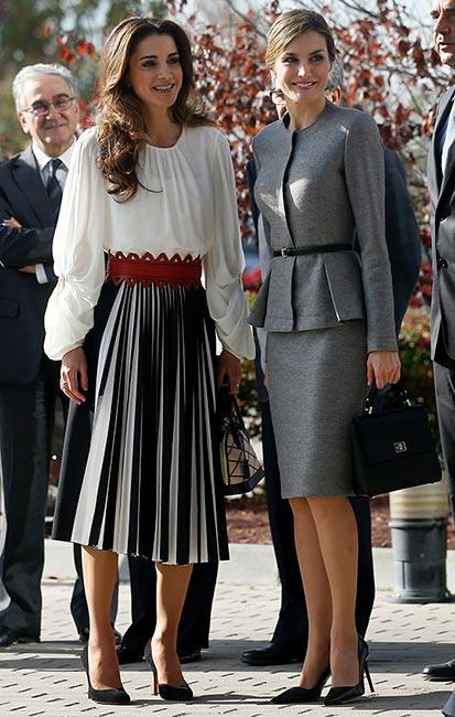 ¿Cuánto mide la Reina Letizia Ortiz? - Altura - Real height Rania_letizia_estilo_2-z
