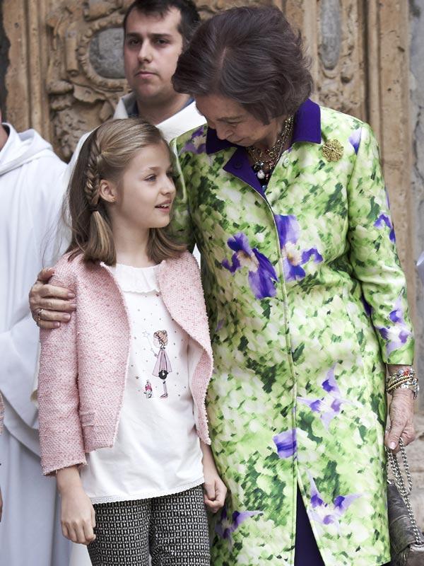 Felipe VI y Letizia - Página 6 Pascua9--a