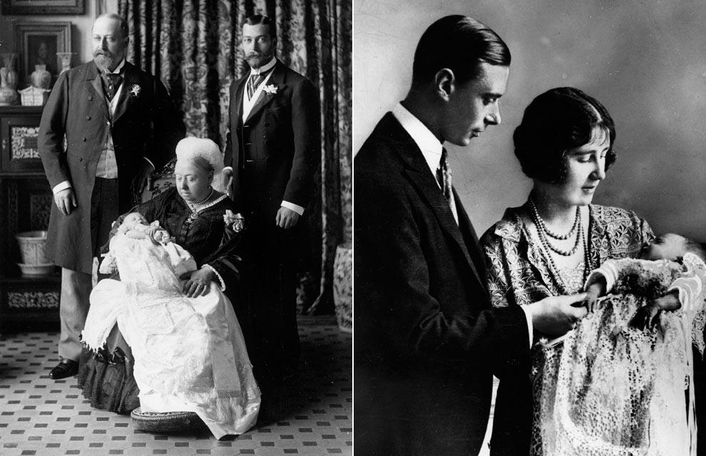 William y Catherine, Duques de Cambridge - Página 27 Bautizo-reina-isabel1-a