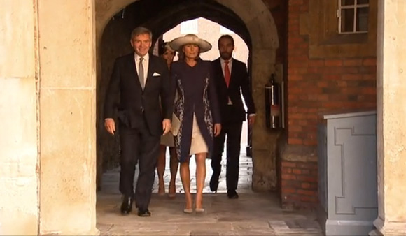 Bautizo Real del Príncipe George Alexander Louis. P-padres-middleton--a