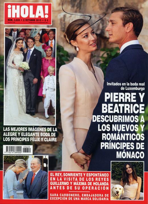 Boda de Félix de Luxemburgo y Claire Lademacher - Página 8 Portada-revista-hola-520
