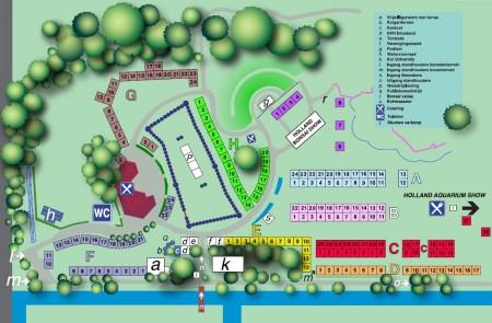 Bettas4all presents The Holland Betta Show 19-21 August 2011 HKS_2011_plattegrond_450