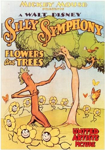 Les âges d'or des Walt Disney Animation Studios Flowers-and-trees-350x498