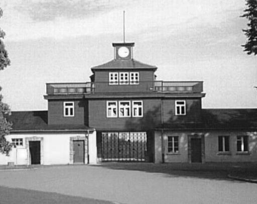 Littérature concentrationnaire Buchenwald%20Gate