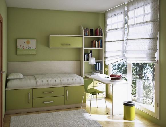 غرف نوم أطفال متنوعة Kids-room-1-582x447