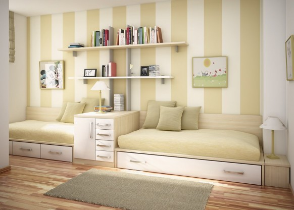 غرف نوم أطفال متنوعة Kids-room-5-582x416