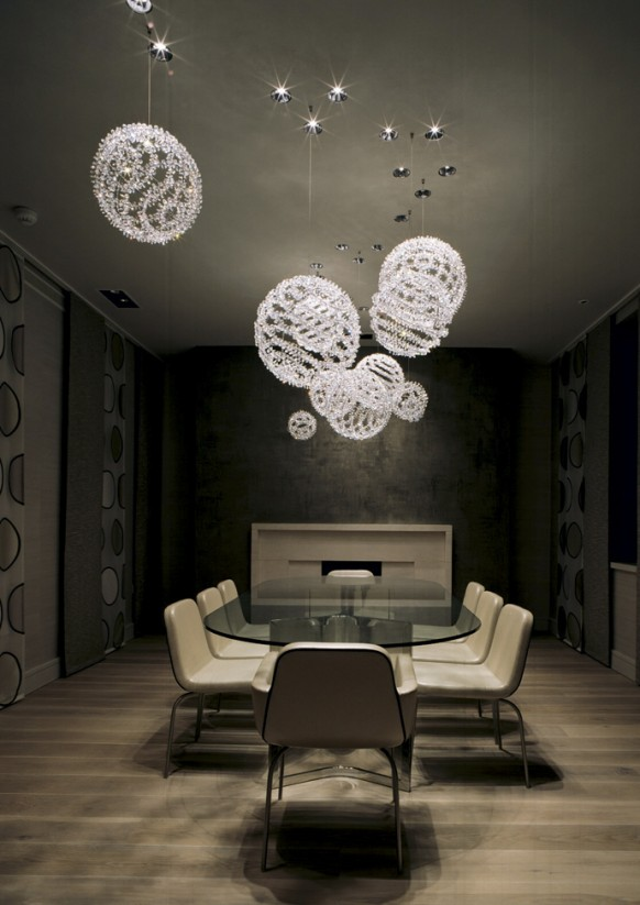 فخامة وروعة الأثاث ولا في الأحلام Dining-room-chandlier-582x823