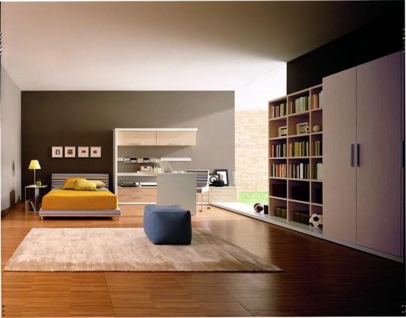 ديكوآرآت جميله Kids-room-black-582x456