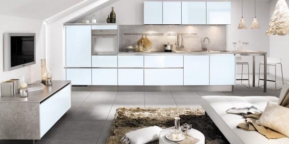 اجمل الدهانات للمنزل Kitchen-near-living-582x291