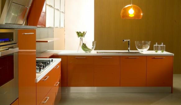 فخامة وروعة الأثاث ولا في الأحلام Di-lorio-cucine-orange-kitchen-582x339