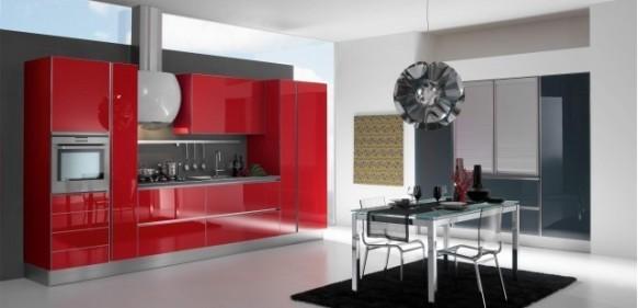 فخامة وروعة الأثاث ولا في الأحلام Gatto-cucine-spa-red-kitchen-interior-582x281