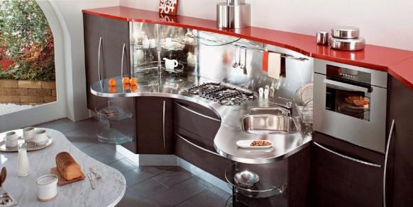 فخامة وروعة الأثاث ولا في الأحلام Modular-kitchen-582x293