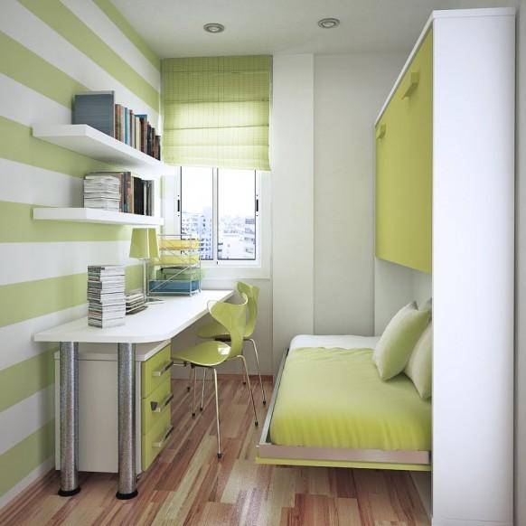 مجموعة ديكورات لغرف الاطفال ذات المساحات الصغيرة Save-space-582x582