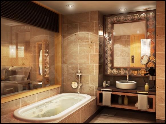 فخامة وروعة الأثاث ولا في الأحلام Bathroom-Yangzhou-by-Danur78-582x436
