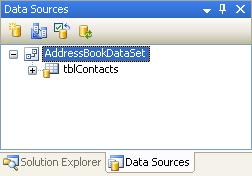 الاتصال و التعامل مع قاعدة بيانات أكسس فى بيئة vb.net بواسطة تقنية ADO.NET DbDataSource2