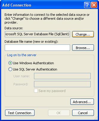 الاتصال و التعامل مع قاعدة بيانات أكسس فى بيئة vb.net بواسطة تقنية ADO.NET DbStep3