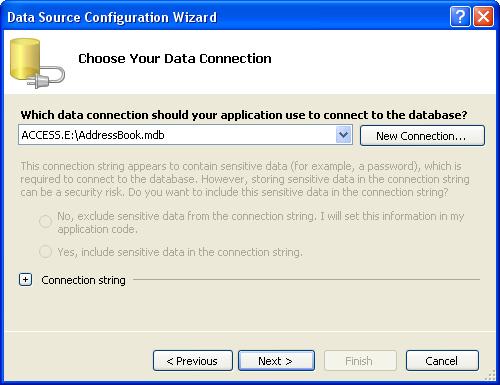 الاتصال و التعامل مع قاعدة بيانات أكسس فى بيئة vb.net بواسطة تقنية ADO.NET DbStep7
