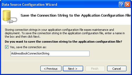 الاتصال و التعامل مع قاعدة بيانات أكسس فى بيئة vb.net بواسطة تقنية ADO.NET DbStep8