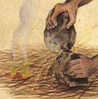 Les annunakis: ceux qui descendaient du ciel sur la Terre, qui sont-ils? - Page 5 Logo_feu