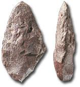 Le paléolitique Biface