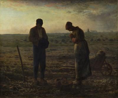 Pensée du jour : S'abandonner à la grâce.  Angelus