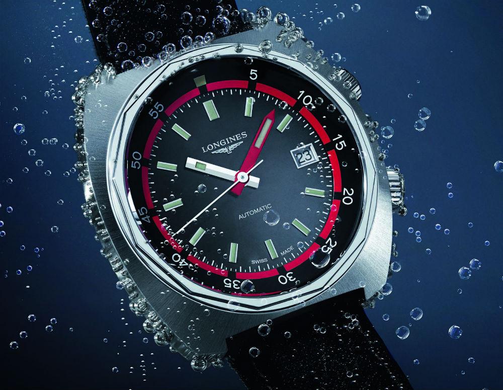 Longines - Longines Heritage Diver 3 aiguilles, et Chrono Longines-Heritage-Diver-3aig