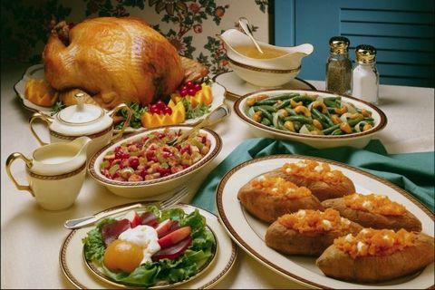 Hnub Nco Tshav Ntuj (Thanksgiving) Thanksgiving-food