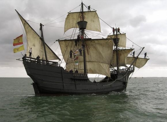 Vos différents types d'embarcation préférés  Navire-nao-victoria