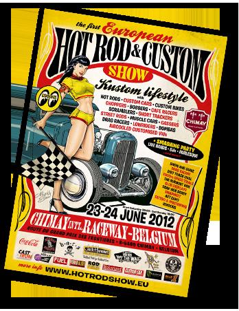 1er Hot Rod & Custom Show a Chimay Home_june_2012