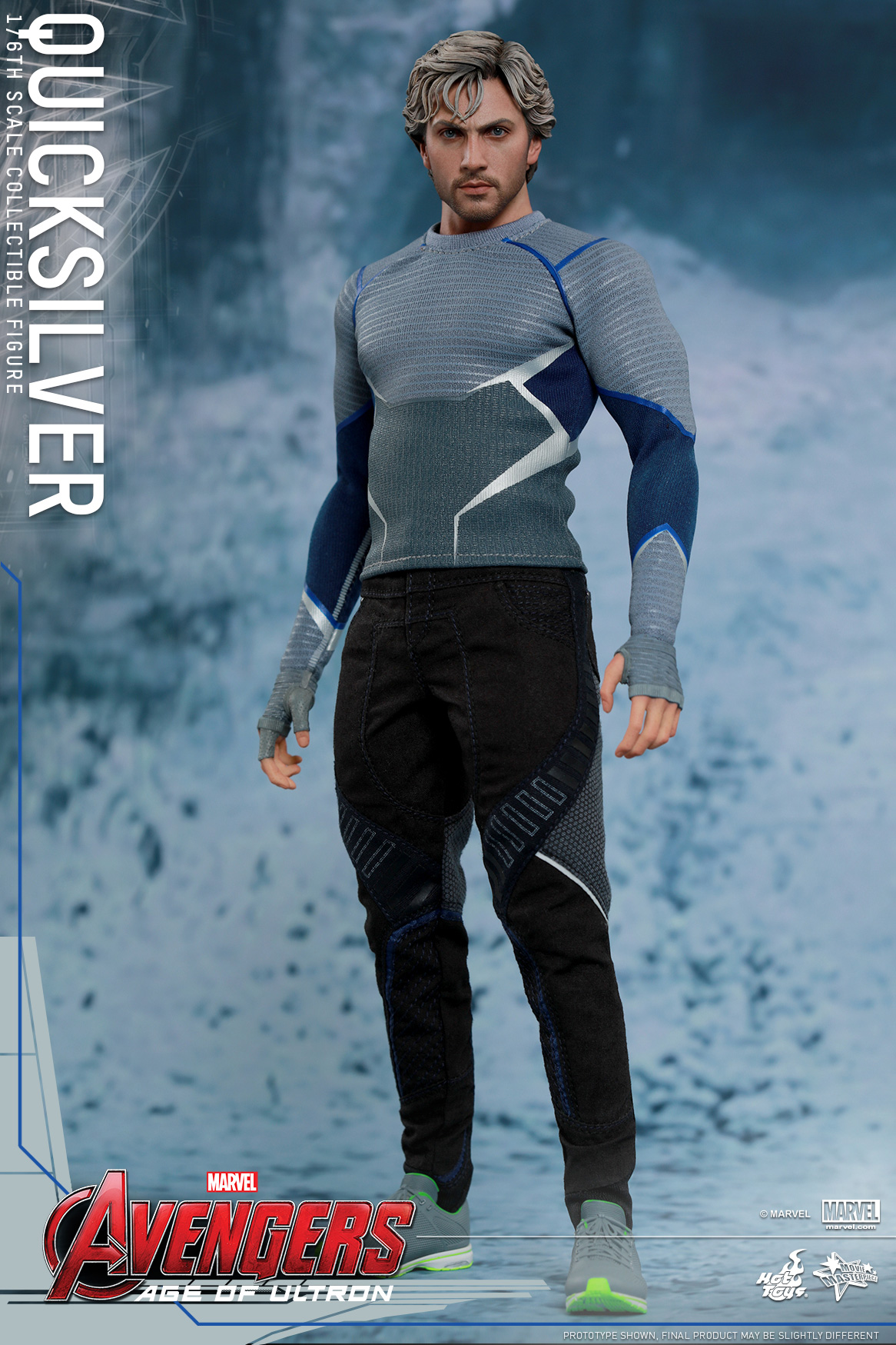 [Hot Toys] The Avengers: Age of Ultron - Quicksilver Up_1