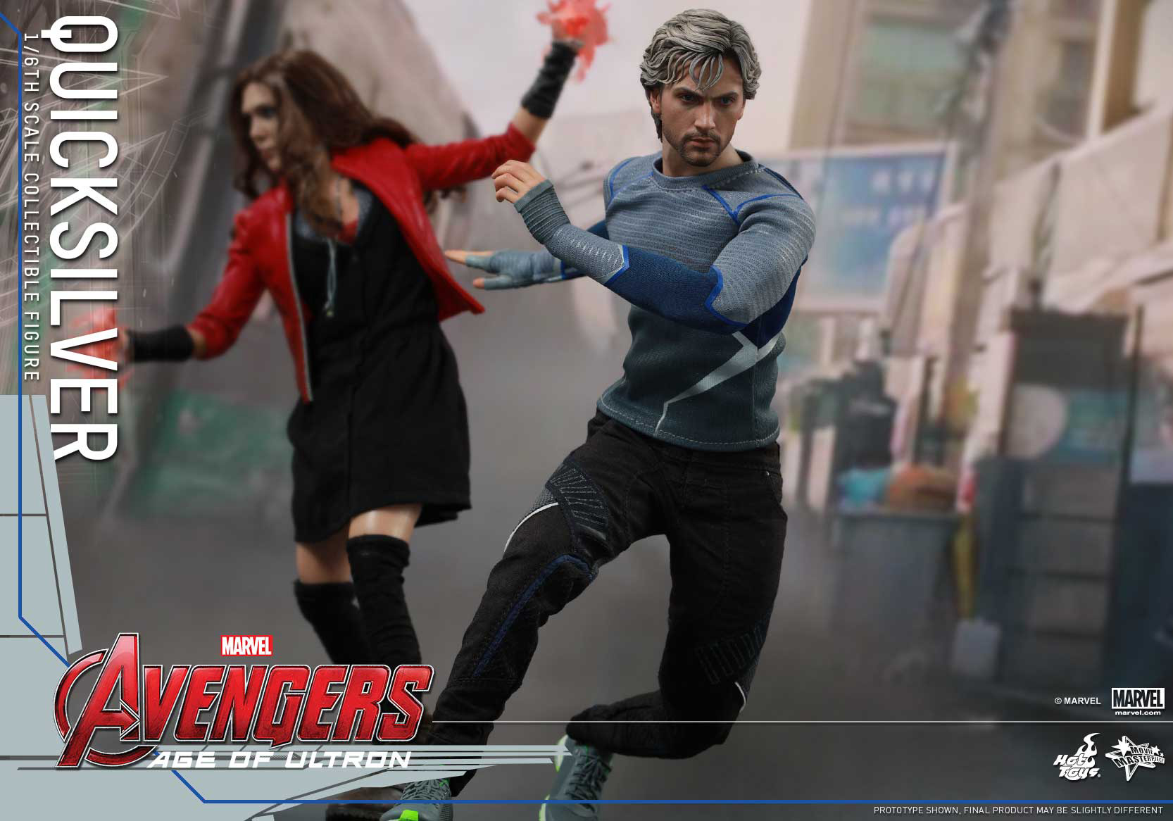 [Hot Toys] The Avengers: Age of Ultron - Quicksilver Up_10