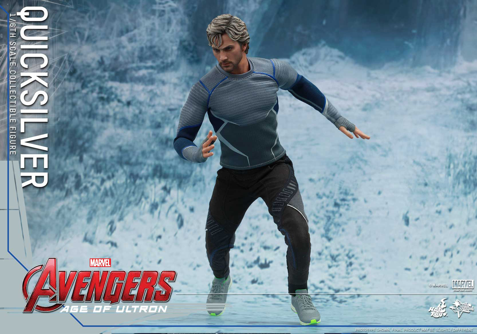 [Hot Toys] The Avengers: Age of Ultron - Quicksilver Up_11
