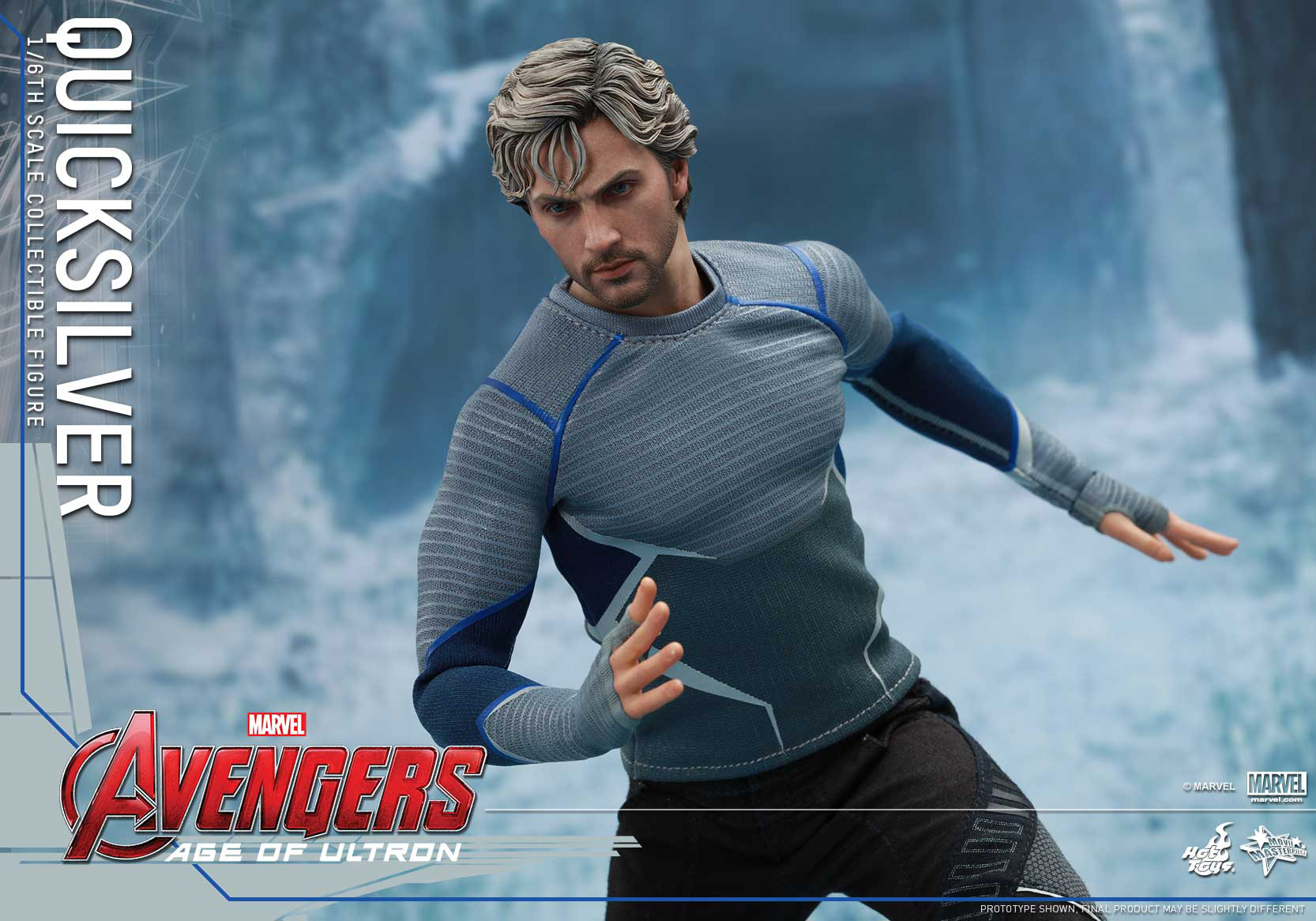 [Hot Toys] The Avengers: Age of Ultron - Quicksilver Up_12
